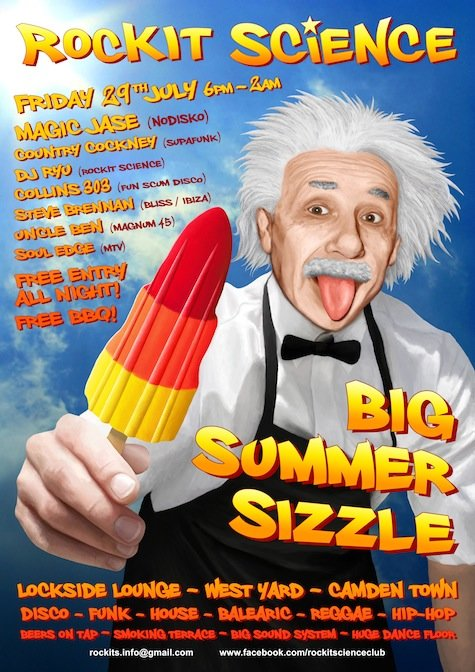 The Rockit Science Big Summer Sizzle